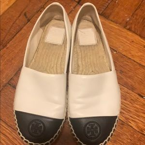 Tory Burch Espadrille shoes!